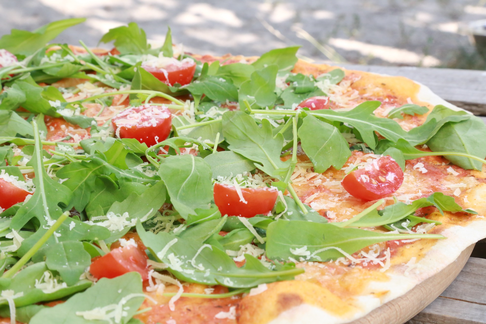 tomate rucola